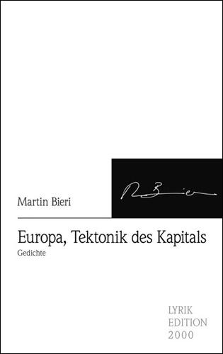 Buchcover Europa, Tektonik des Kapitals